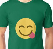 Face savouring delicious food Unisex T-Shirt