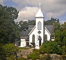 St. Brendan's Church,  1000 Islands Rockport, ON Canada by Shulie1
