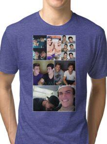 Dolan twins collage 4  Tri-blend T-Shirt