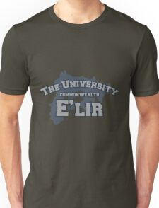 THE UNIVERSITY: E'LIR Unisex T-Shirt