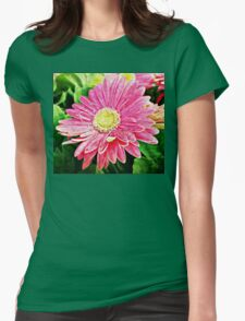 In the front row Womens Fitted T-Shirt