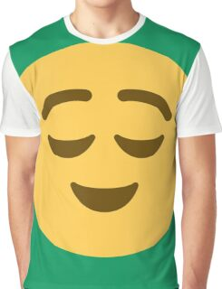 Relieved face Graphic T-Shirt