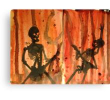 Bare Bones Rock Canvas Print