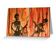 Bare Bones Rock Greeting Card