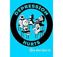 Depression Hurts Photographic Print