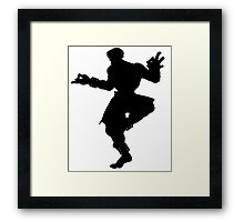 Dhalsim - right side Framed Print