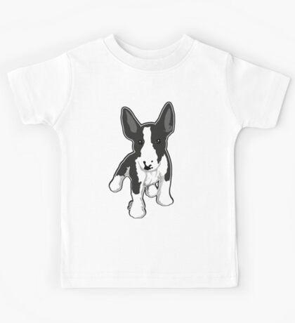 EBT Puppy Mono Graphic Kids Tee