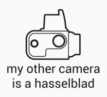 My other camera is a Hasselblad [for light colours] by Michael Reid