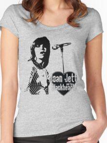 Joan Jett Women's Fitted Scoop T-Shirt