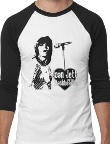 Joan Jett Men's Baseball ¾ T-Shirt