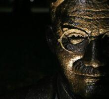 James Naismith Bronze Statue Sticker