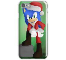Santa Sonic iPhone Case/Skin