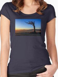 A Tree, Taking A Bough. Women's Fitted Scoop T-Shirt