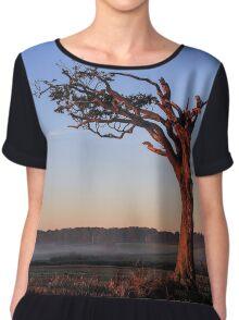 A Tree, Boughing to Nature Chiffon Top