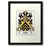 Levis Coat of Arms (French) Framed Print
