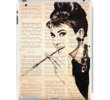 Audrey Hepburn an02 iPad Case/Skin