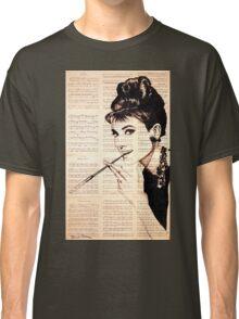 Audrey Hepburn an02 Classic T-Shirt