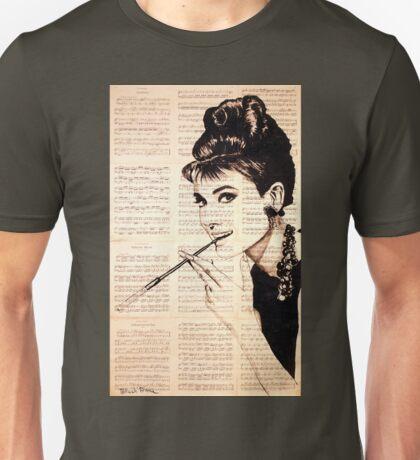 Audrey Hepburn an02 Unisex T-Shirt