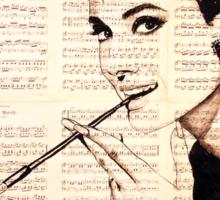 Audrey Hepburn an02 Sticker