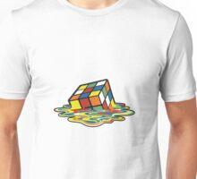 Melted Rubik's Cube Unisex T-Shirt