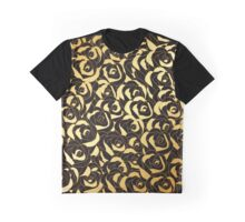 Golden Roses Graphic T-Shirt