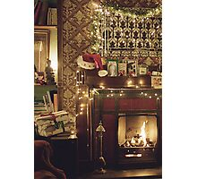 Sherlock Christmas at 221b  Photographic Print