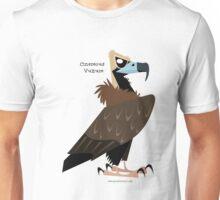 Cinereous Vulture caricature Unisex T-Shirt