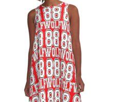 ♥♫I Love KPop-Awesome EXO WOLF 88♪♥ A-Line Dress