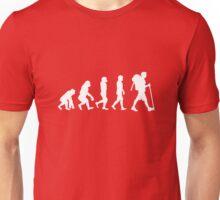 Evolution - white Unisex T-Shirt