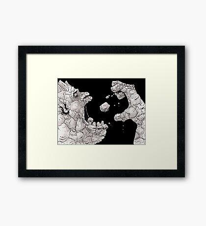 Rockbiter Framed Print
