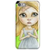 broken doll iPhone Case/Skin