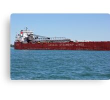 Canada Steamship Lines Canvas Print