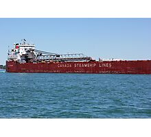 Canada Steamship Lines Photographic Print