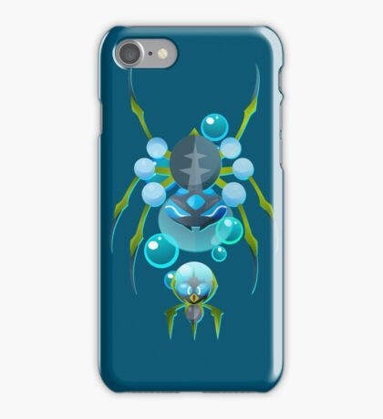 Dewpider and Araquanid iPhone Case/Skin