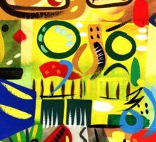 Abstract Interior #23 Sticker