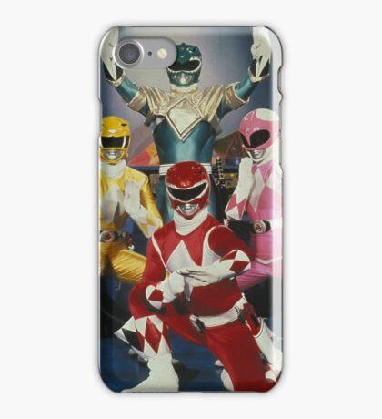 power rangers iPhone Case/Skin