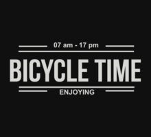 Bicycle Time Baby Tee