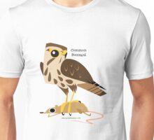 Common Buzzard caricature Unisex T-Shirt
