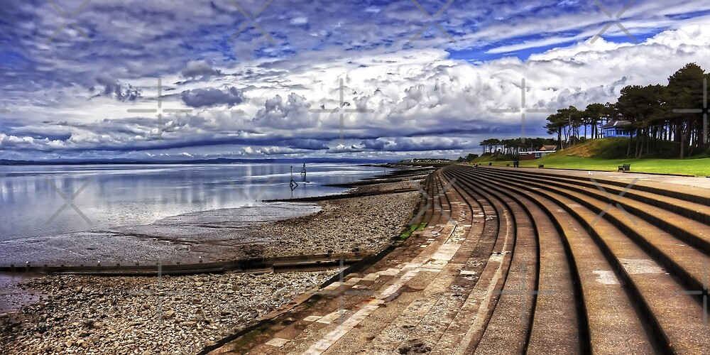 Silloth Waterfront by Tom Gomez