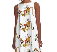 Calvin Hobbes A-Line Dress