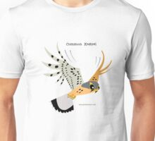 Common Kestrel Hunting caricature Unisex T-Shirt