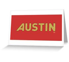 Austin, TX Greeting Card