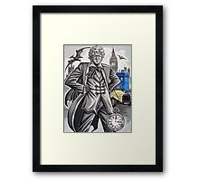 The Third Doctor Framed Print