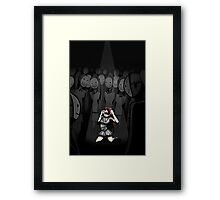 The Final Cry Of The Individual Framed Print