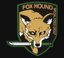Metal Gear Solid - Foxhound Logo by 7moppy7