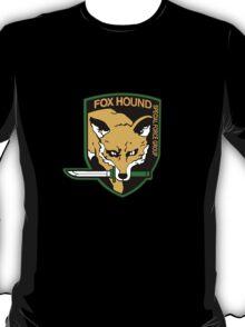 Metal Gear Solid - Foxhound Logo T-Shirt
