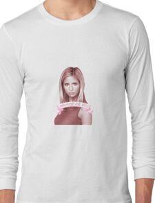BUFFY OR DIE Long Sleeve T-Shirt
