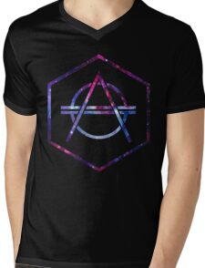 Galaxy Don Diablo Cool Mens V-Neck T-Shirt
