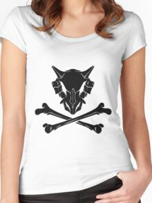 Dark Cubone Women's Fitted Scoop T-Shirt