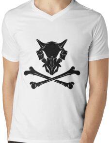 Dark Cubone Mens V-Neck T-Shirt